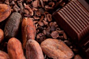 Raw Chocolate and cacao